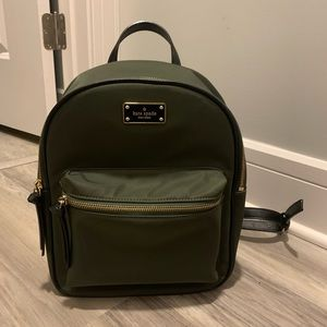 Kate Spade - Nylon Backpack (Green)
